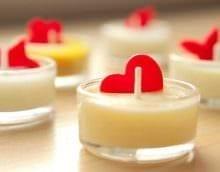 идея красивого украшения свечек своими руками картинка