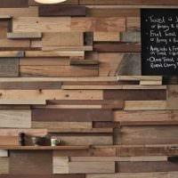 идея яркого декорирования комнаты деревом своими руками картинка