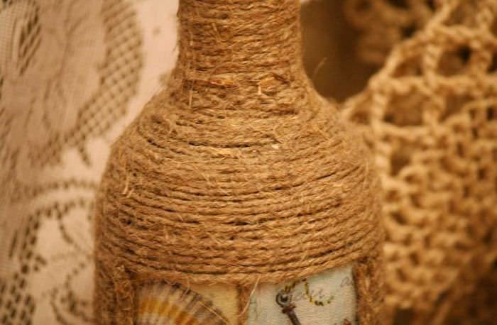 Декор из шпагата своими руками фото 52