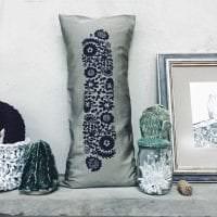 вязанные накидки в стиле спальни картинка