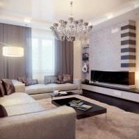 светлый дизайн квартиры в стиле модерн фото