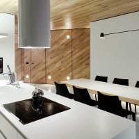красивый интерьер комнаты со стеновыми панелями фото