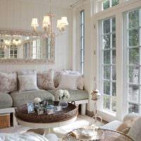 яркий интерьер спальни в стиле прованс фото