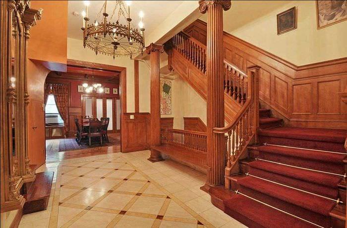 современный дизайн комнаты в готическом стиле