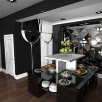 красивый интерьер кухни в греческом стиле картинка