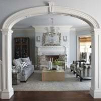 необычный стиль дома в греческом стиле картинка