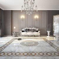 красивый дизайн спальни в стиле ампир картинка