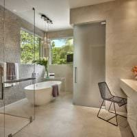 светлый интерьер ванной картинка