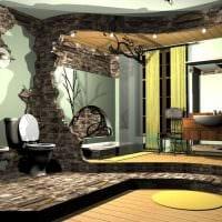 яркий интерьер квартиры в готическом стиле фото