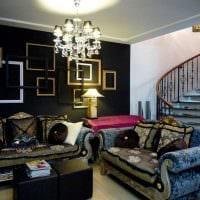 современный стиль комнаты в готическом стиле картинка