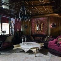 яркий фасад спальни в готическом стиле фото