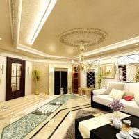 современный стиль комнаты в восточном стиле картинка
