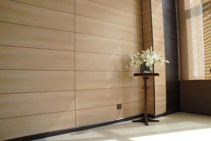 необычный интерьер квартиры со стеновыми панелями