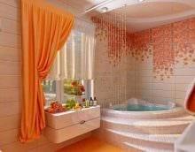 темный стиль ванной комнаты фото