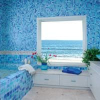 оригинальный интерьер ванной фото