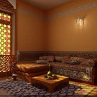 красивый дизайн комнаты в восточном стиле картинка