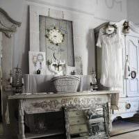 яркий дизайн спальни в винтажном стиле картинка