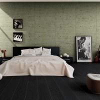 классический темный пол в стиле комнаты фото