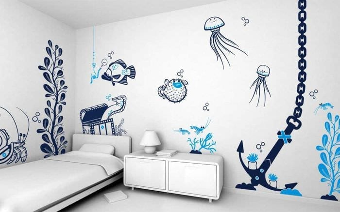 Декор комнаты своими руками схемы