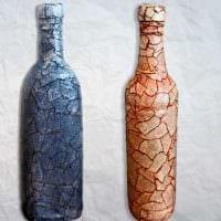 оригинальное декорирование бутылок для интерьера комнаты картинка