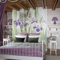 яркое декорирование дизайна комнаты в стиле прованс картинка