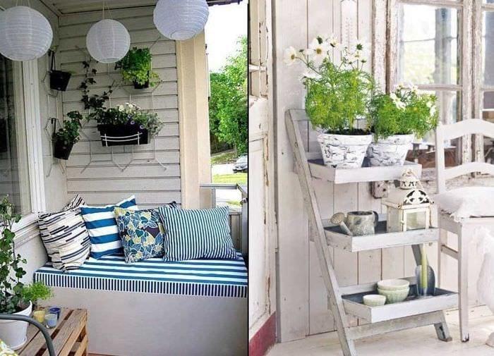 яркое украшение интерьера квартиры в стиле прованс