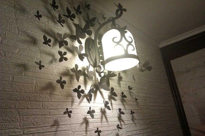 необычное украшение квартиры своими руками