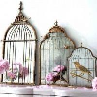оригинальное украшение интерьера комнаты в стиле прованс фото