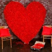 яркое декорирование комнаты подручными материалами на день святого валентина картинка