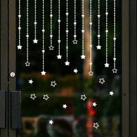 яркое украшение окон аксессуарами картинка