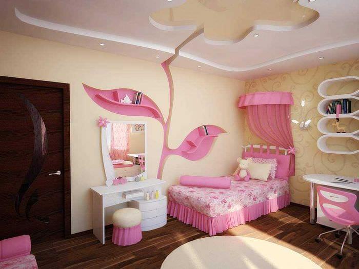 Идеи как украсить комнату для девочек своими руками
