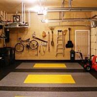 вариант необычного стиля гаража фото