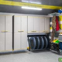 вариант функционального интерьера гаража картинка