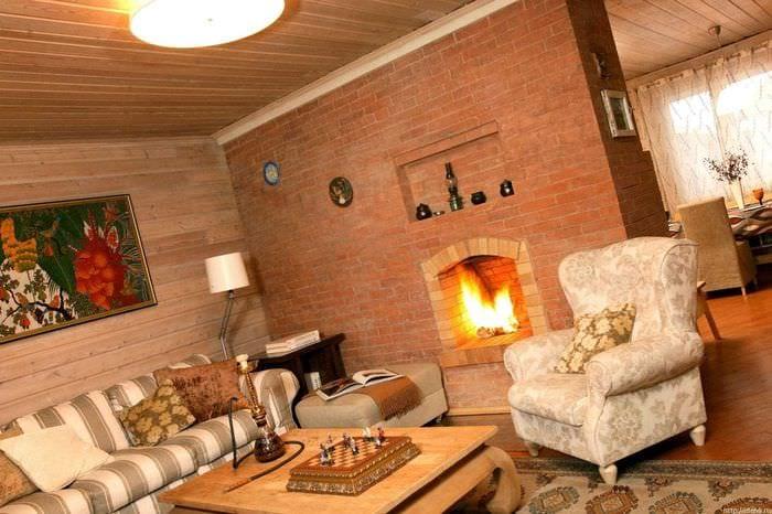 идея красивого декора комнаты в деревенском стиле
