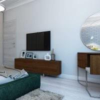 вариант современного дизайна кухни 3-х комнатной квартиры картинка