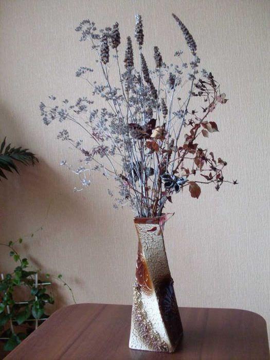 Ветки для напольной вазы своими руками 954