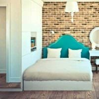 идея красивого декоративного камня в интерьере квартиры картинка