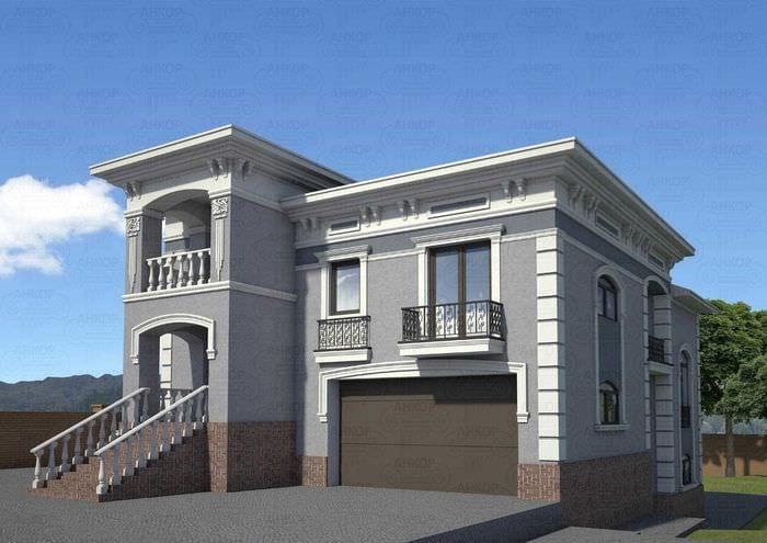 Отделка фасадов домов в краснодаре
