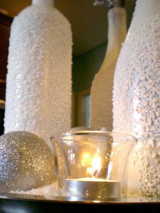 Декор стеклянной вазы своими руками фото 250