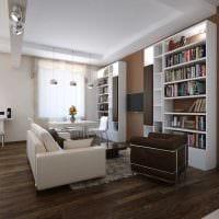 вариант необычного стиля квартиры фото
