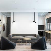 идея оригинального интерьера квартиры фото пример