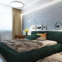 идея оригинального интерьера гостиной 3-х комнатной квартиры фото