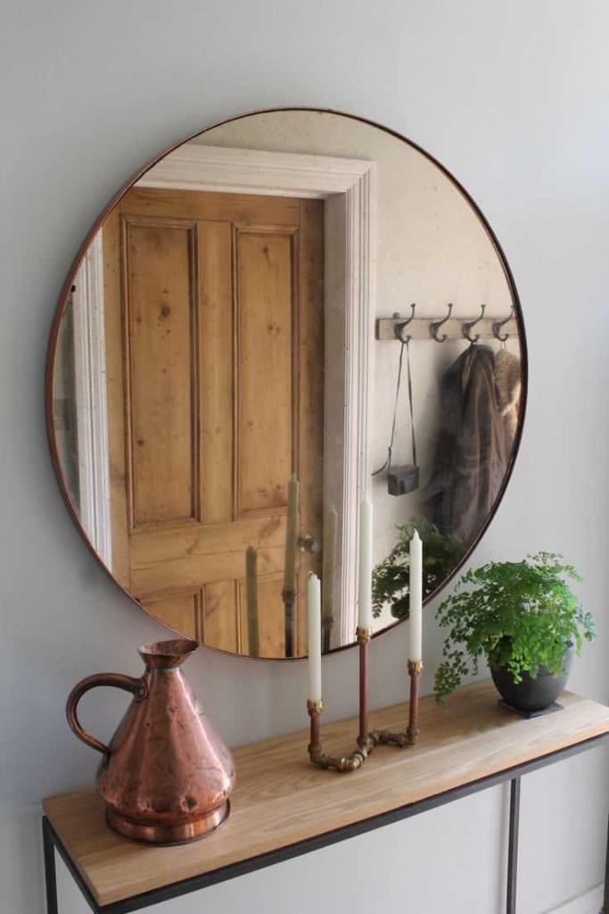 Зеркало для прихожей своими руками фото 770