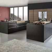 идея оригинального дизайна кухни картинка