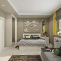 идея яркого дизайна 2 комнатной квартиры картинка