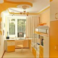 вариант яркого стиля комнаты для девочки картинка