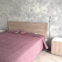 вариант яркого фасада комнаты с декоративной штукатуркой фото