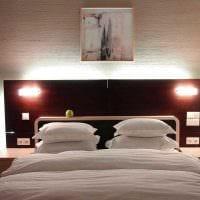 идея необычного интерьера квартиры с декоративной штукатуркой фото
