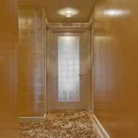 вариант красивого интерьера коридора картинка