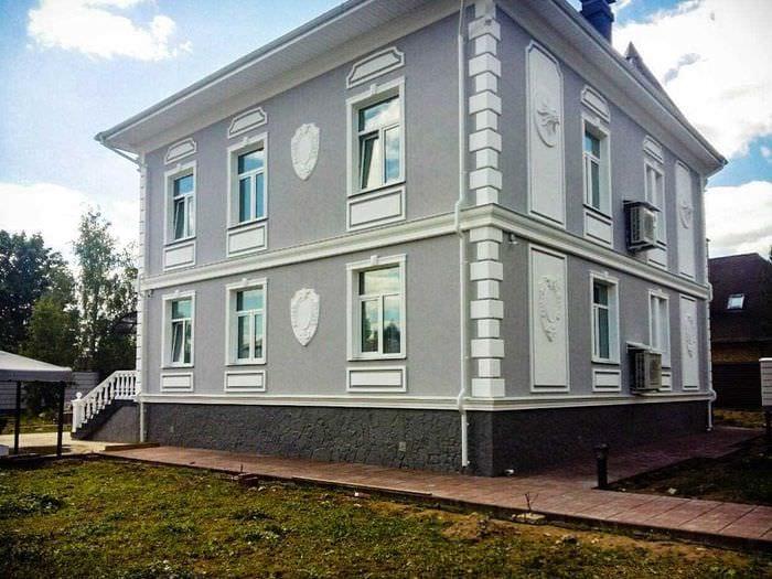 Оформление фасада дома своими руками фото